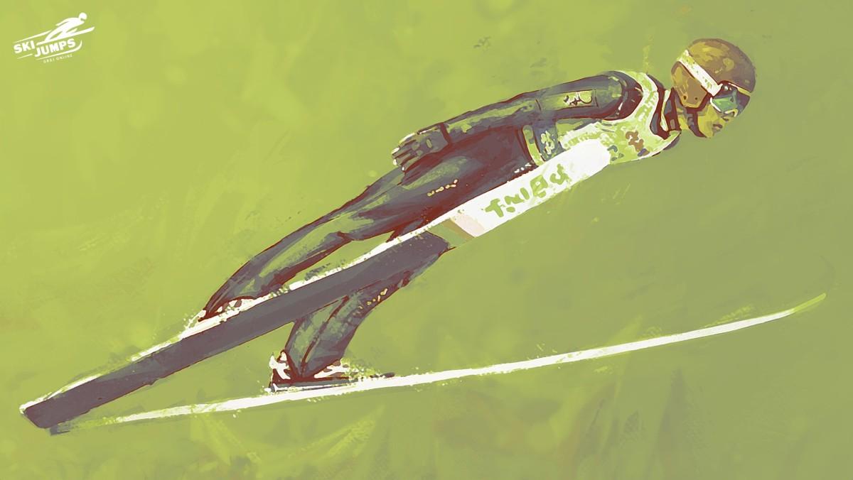 Skoki narciarskie ski jumping
