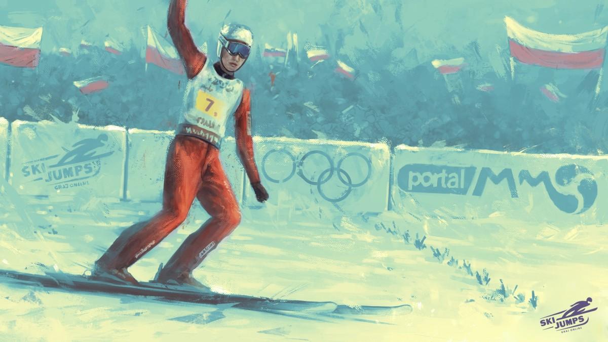 Ski Jumping online gra