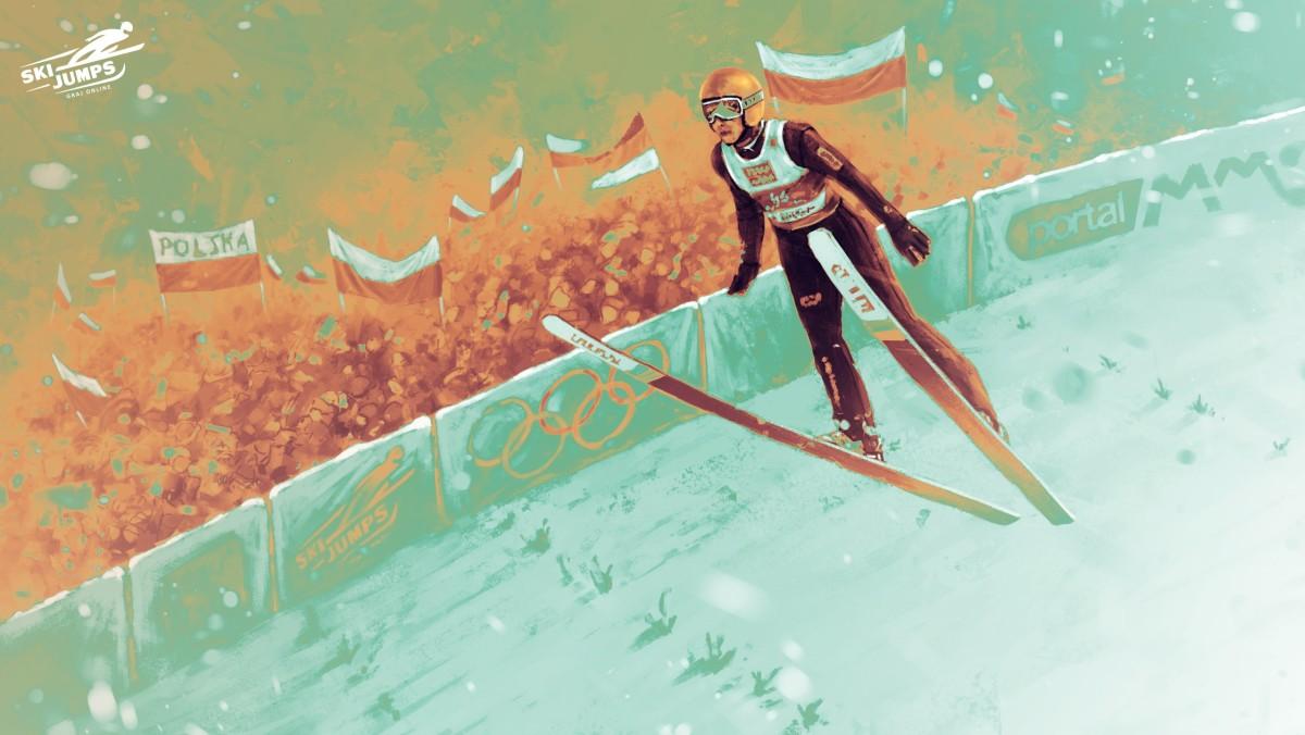 Gry o skokach narciarskich ski jump