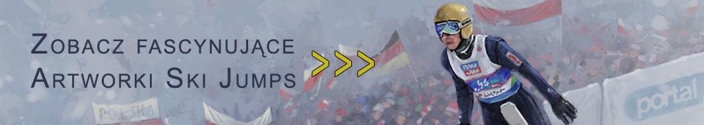 ski jumping online artwork menadżer