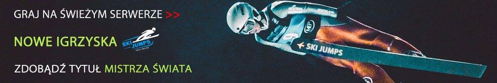 Ski Jumps - skoki narciarskie gra online skijumping