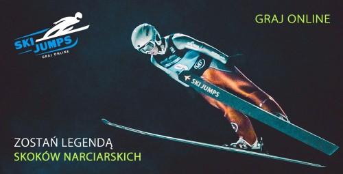 gry skoki narciarskie ski jump