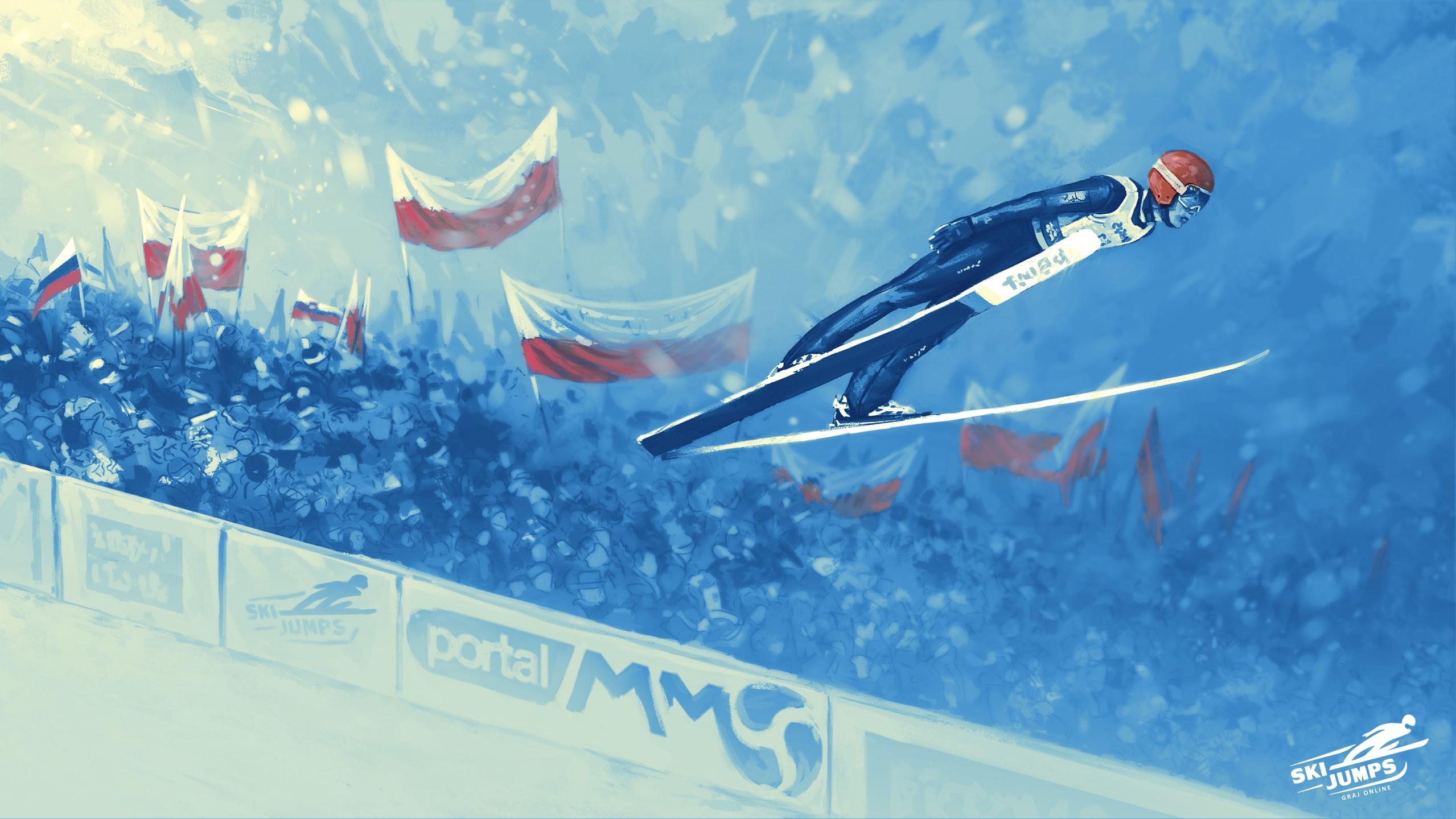 Skoki narciarskie online gra