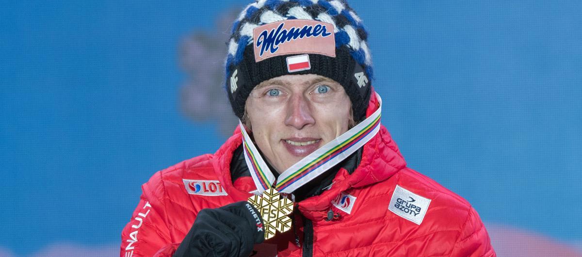 Dawid Kubacki skoczek narciarski polski Mistrz ?wiata