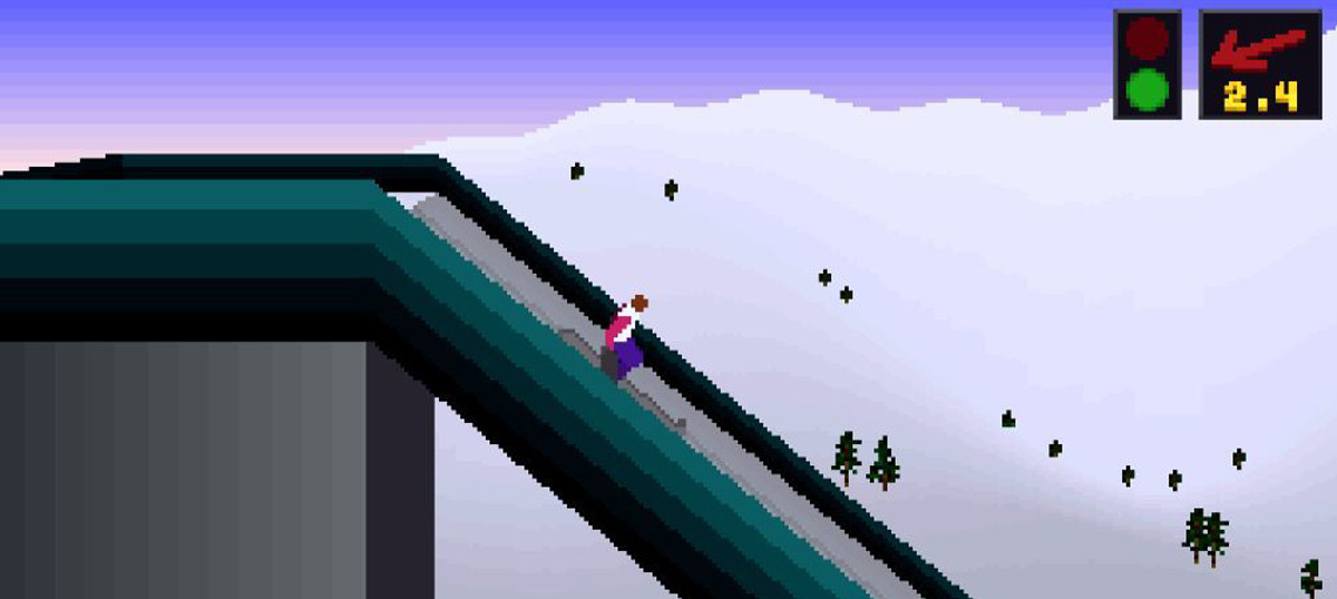 Deluxe Ski Jump 4 - DSJ - gra ma?ysz