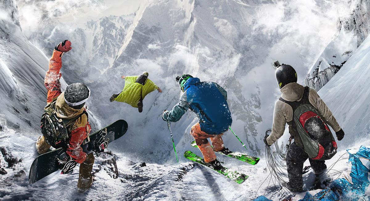 Gry snowboardowe i narciarskie skoki