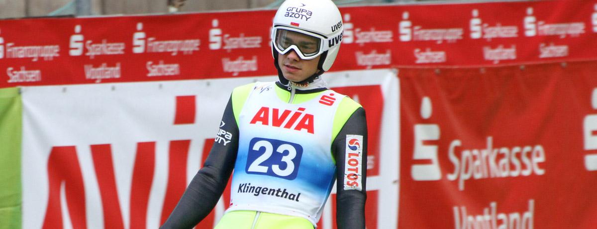 "Jakub Wolny - ""Szybki"" skoczek narciarski"