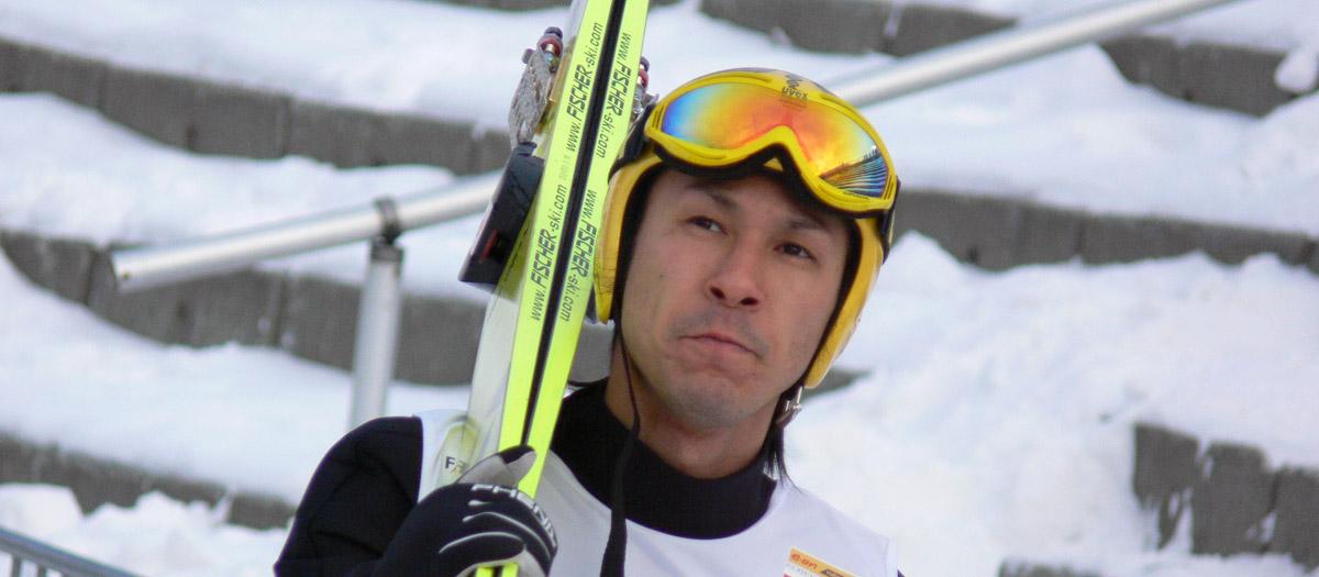 Noriaki Kasai - skoczek narciarski Japonia