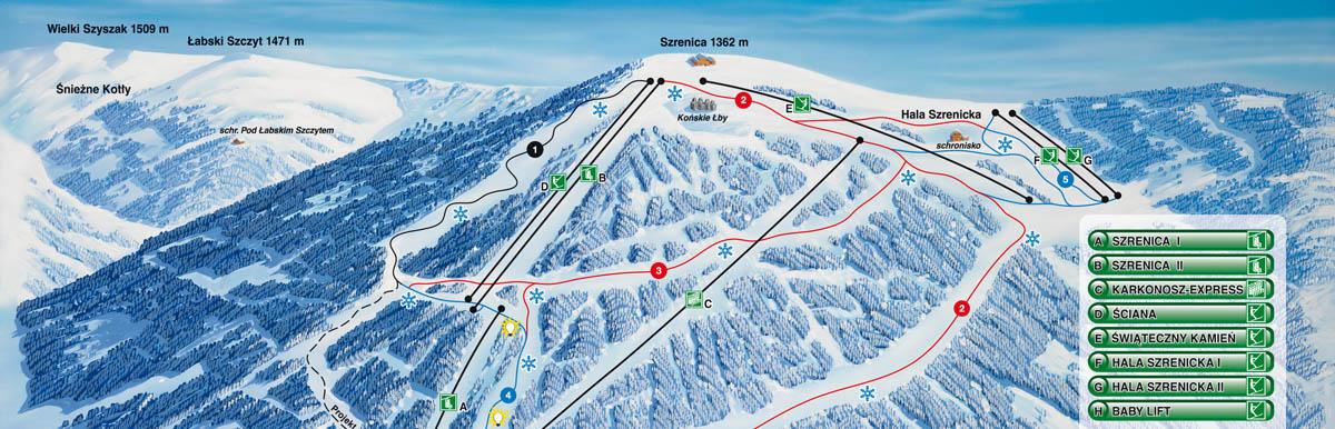 Ski Arena Szrenica - znakomite miejsce dla fanów sportów zimowych