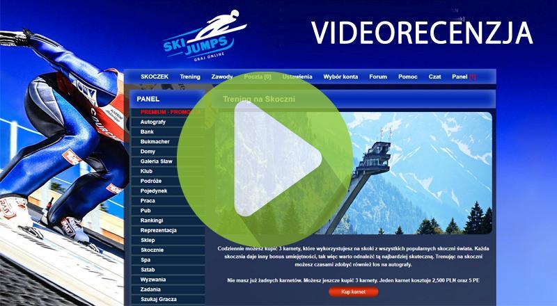 ski jumps symulator skoków narciarskich ski jumping gra