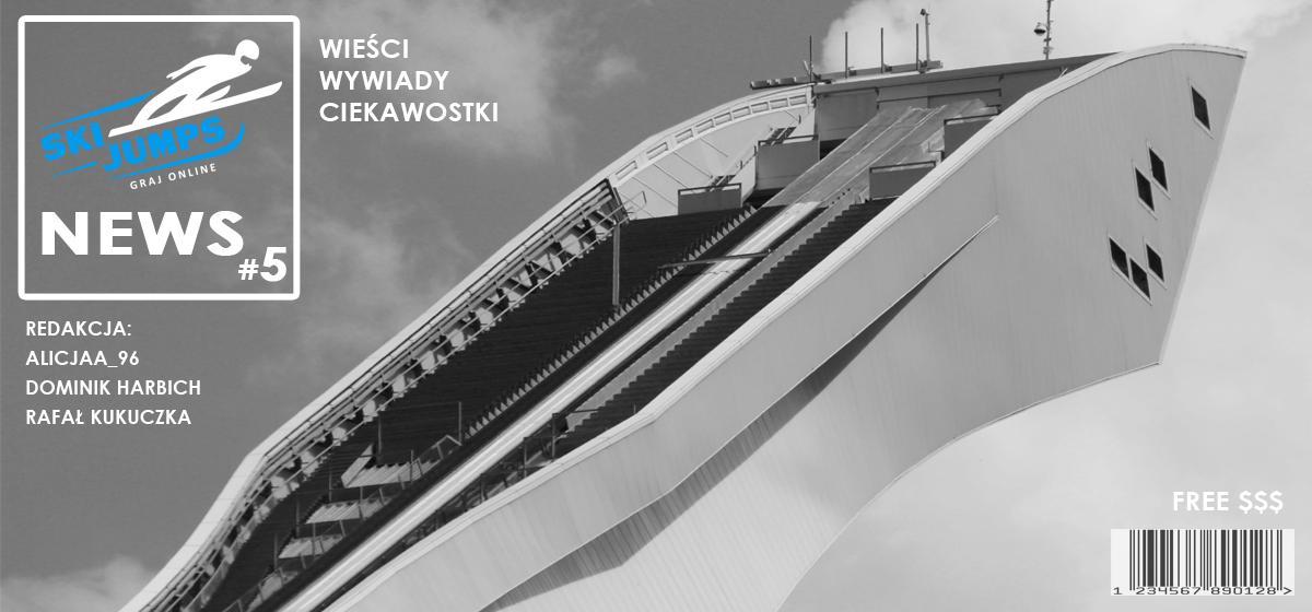 """Gazetka """"Ski Jumps News"""" #5 ✰ Wieści z gry ✰ Skoki na żywo online"""