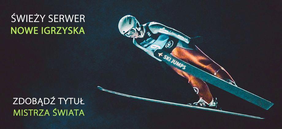 Ski Jumps wchodzi w inny wymiar skoków narciarskich poprzez serwer NOWE IGRZYSKA