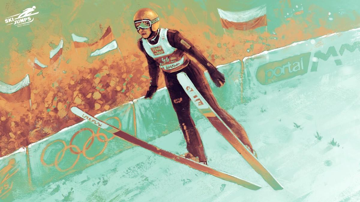 Ski Jumps ArtWork >> Autorskie tapety i plakaty do pobrania