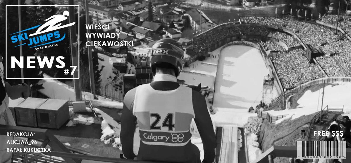 """Gazetka """"Ski Jumps News"""" #7 ✰ Skoki narciarskie dzisiaj na żywo"""