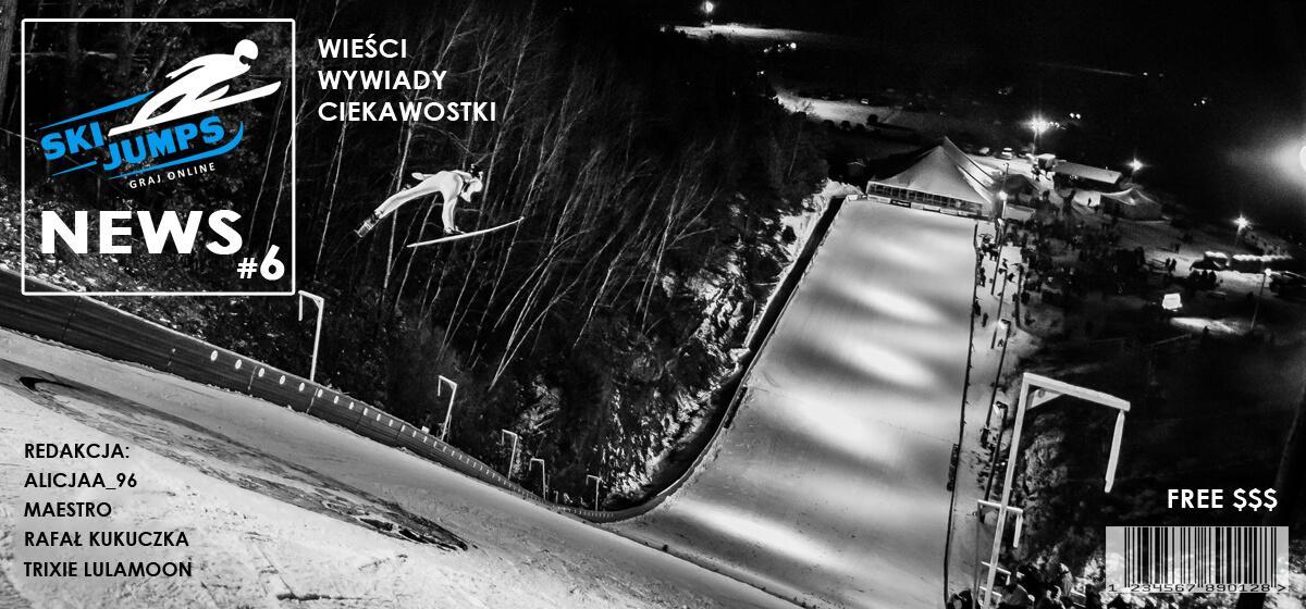 """Gazetka """"Ski Jumps News"""" #6 ✰ Informacje z gry ✰ Skijumping online"""