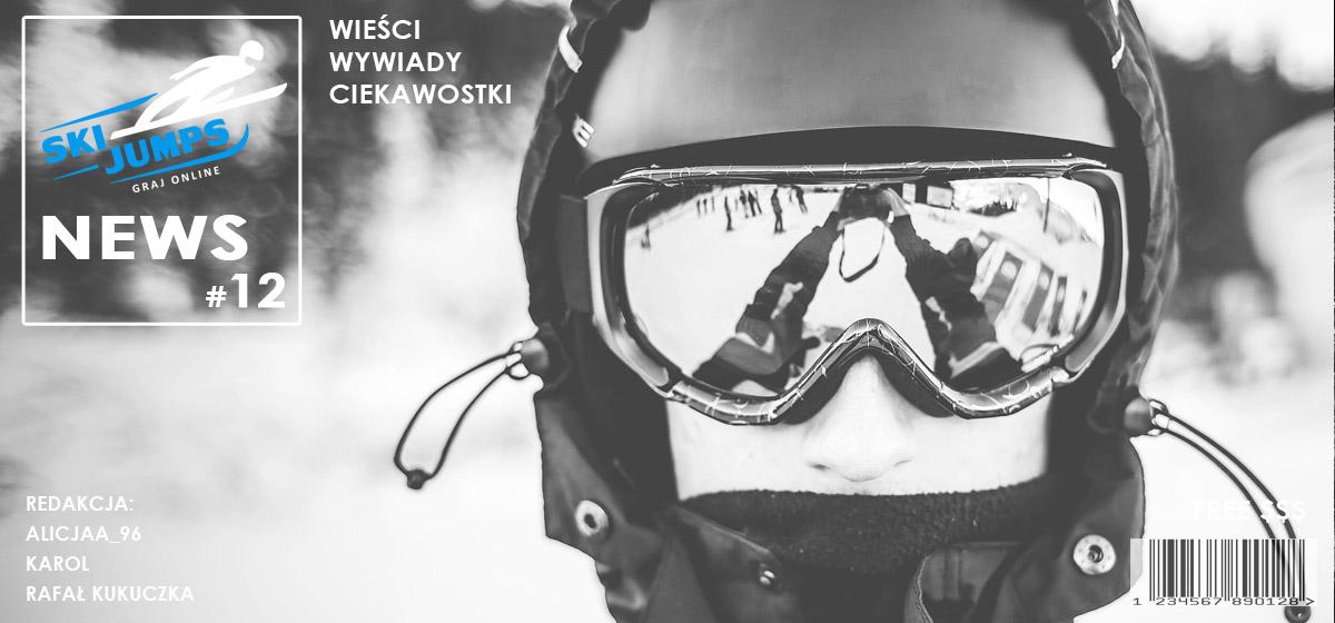"Gazetka ""Ski Jumps News"" #12 ✰ Skoki narciarskie Live"
